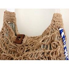 crochet boho bag-net