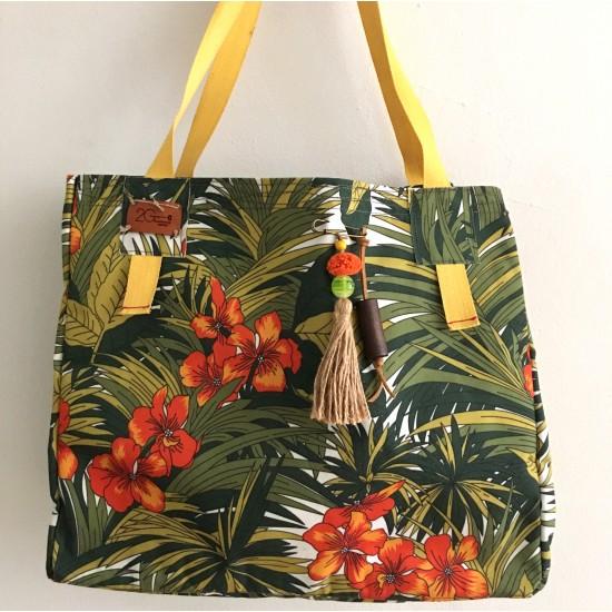beach bag jungle 55