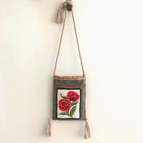 boho bag flowers