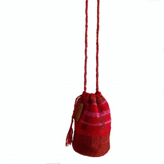 crochet pouch bag wayuu