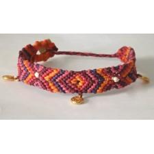 aztec macrame bracelet