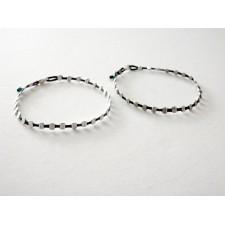 silver dots bracelet