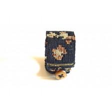 macrame bracelet animal print