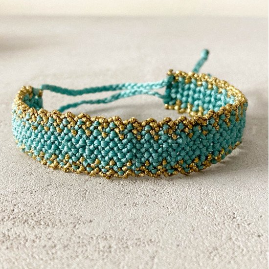 macrame bracelet kleio