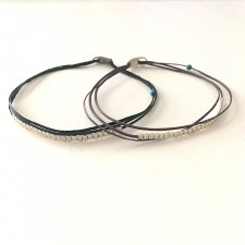 silver blocks bracelet