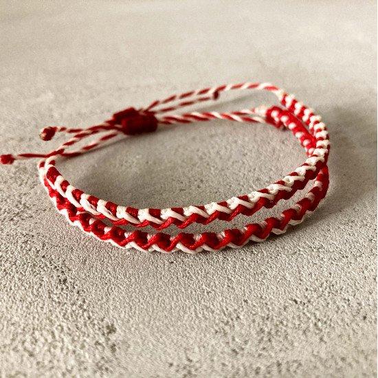 macrame bracelet martis zik zak