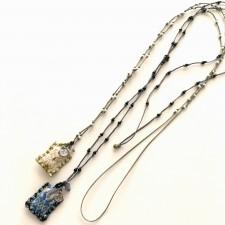 boho talisman necklace patmos