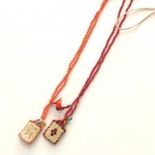 boho talisman necklace tinos