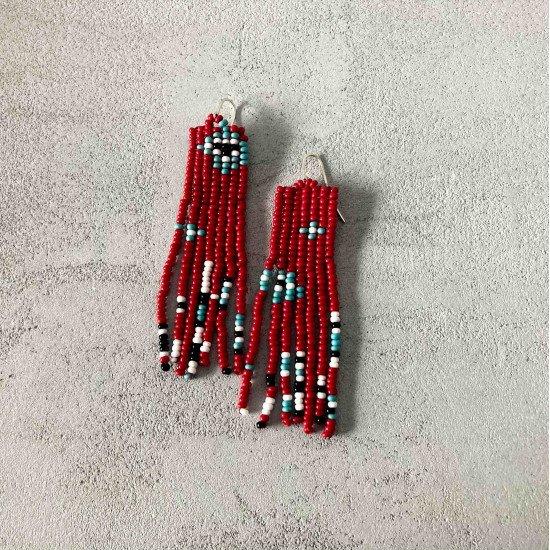 boho earrings Frida Cahlo
